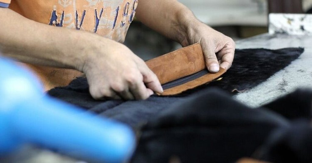 Leather manufacturing with Katana