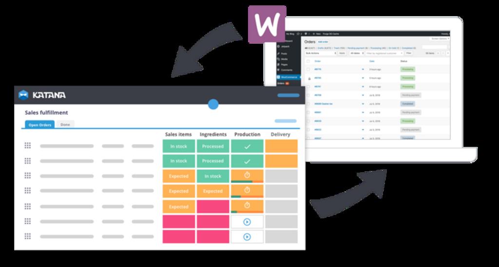 WooCommerce integrates with Katana MRP