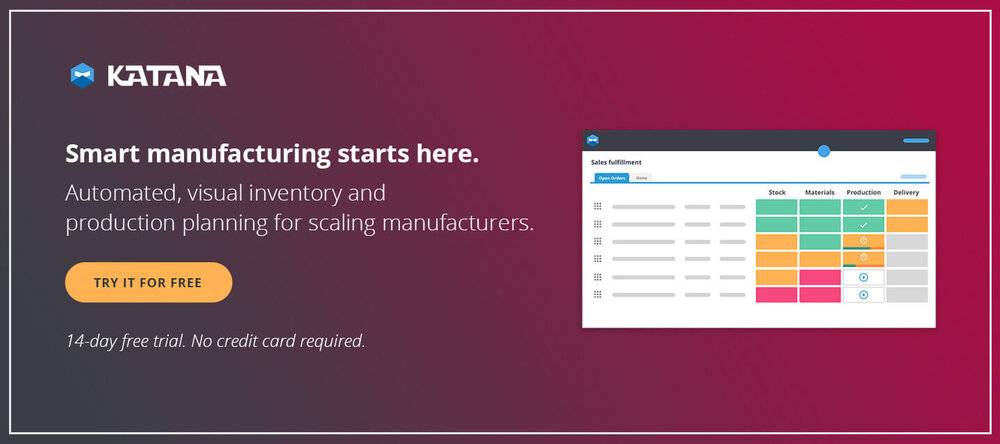 Smart Manufacturing Software for quickbooks raw material inventory