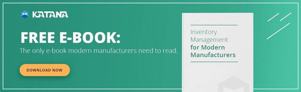 Inventory management guide for modern manufacturers.