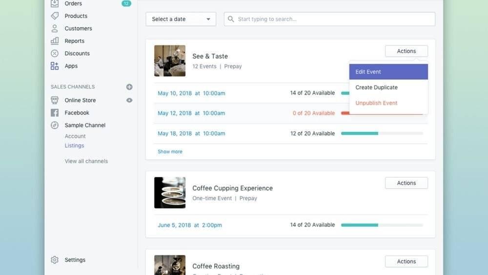 Facebook Messenger Shopify App.