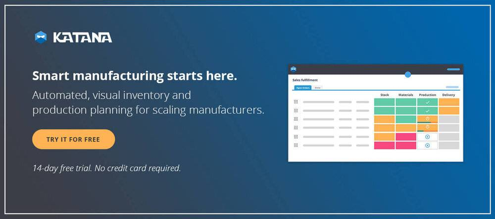 Take on the direct to consumer business model with greater confidence with Katana smart manufacturing software.