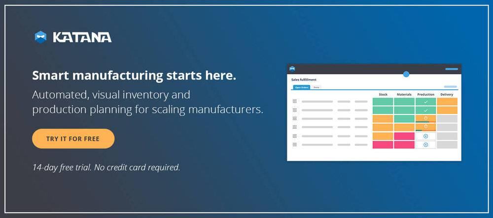 Smart Manufacturing Software — MRP App