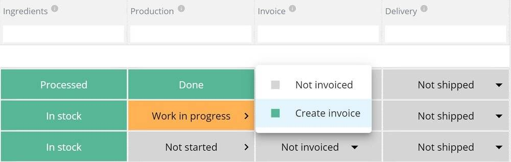 Purchase requisition Xero with Katana means you can better track your bills.