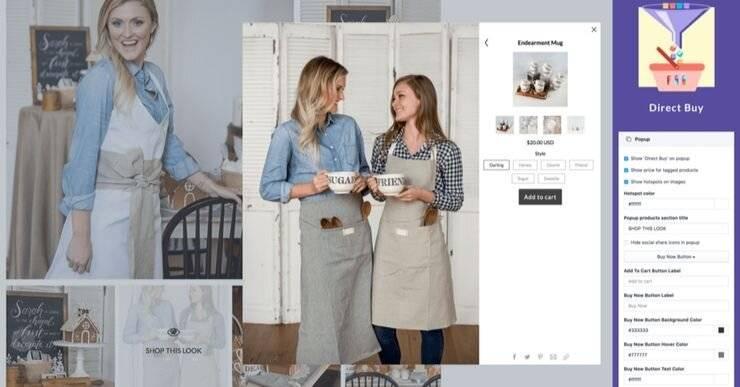 Covet Shopify App.