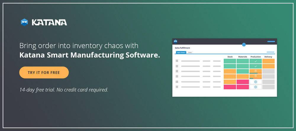 Smart Manufacturing Software for Inventory Management and Production Planning
