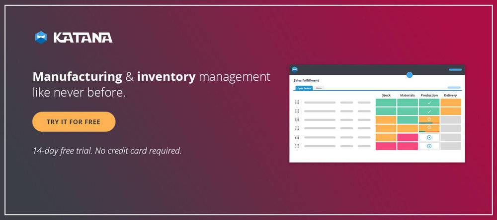 Manufacturing and inventory management.
