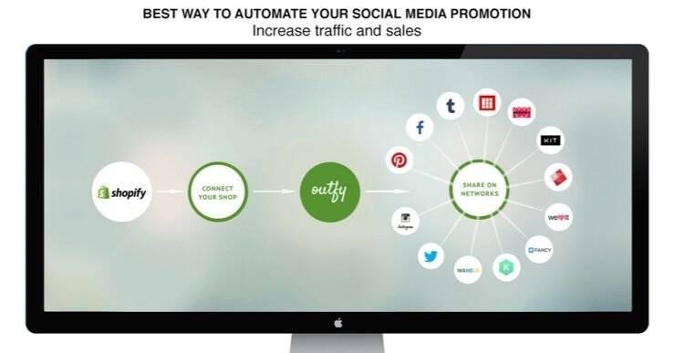 Shopify app which enhances social reach.