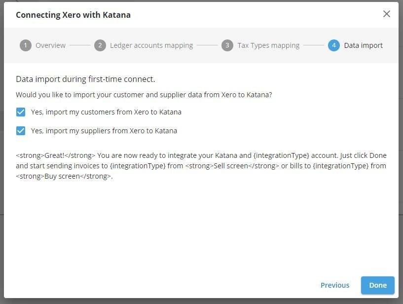 Xero order management can be easily optimized with Katana's integration tools.