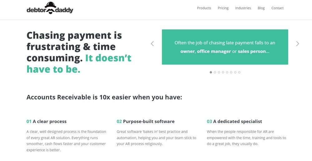 The best Xero integrations will help you manage your payments, like Debtor Daddy.