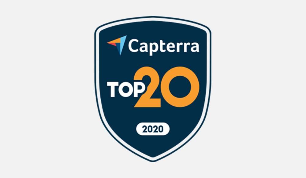 Capterra Top 20 MRP Software x Katana