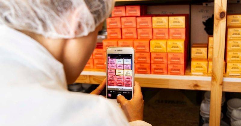 Barcode scanner for inventory control will allow you to track your perishable inventory and batches.