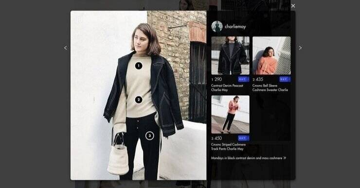 Shopify App for creating a shoppable Instagram gallery