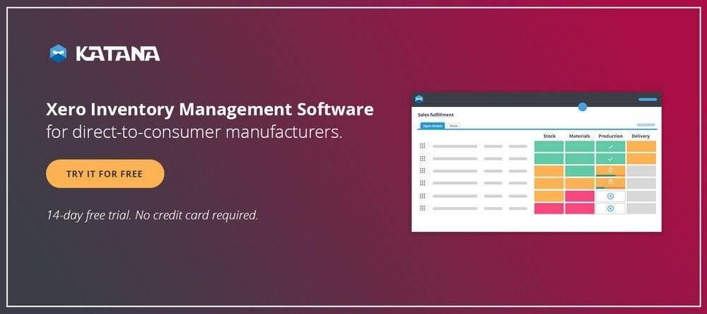 Xero inventory software.