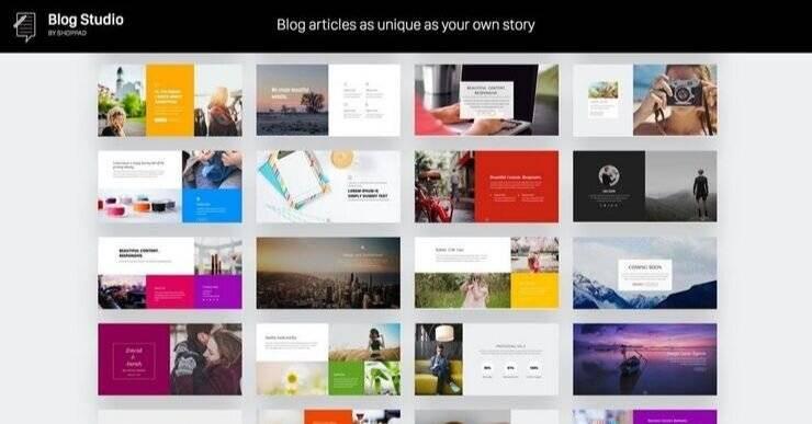 Blog Studio Shopify App.
