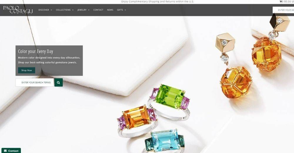 Top Shopify jewelry stores are ones where designers are pursuing their dreams.