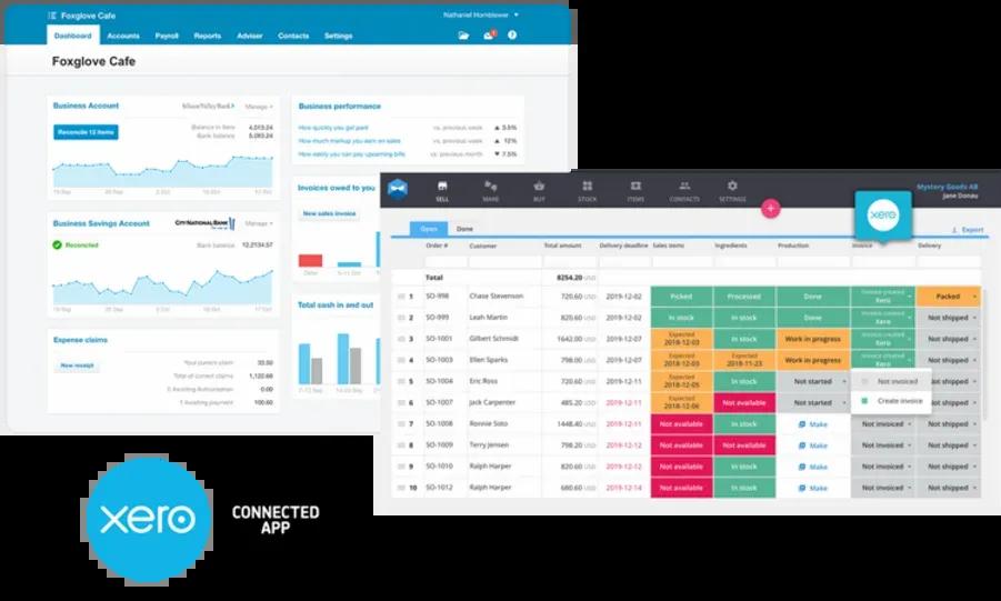 Xero and Katana Accounting Integration